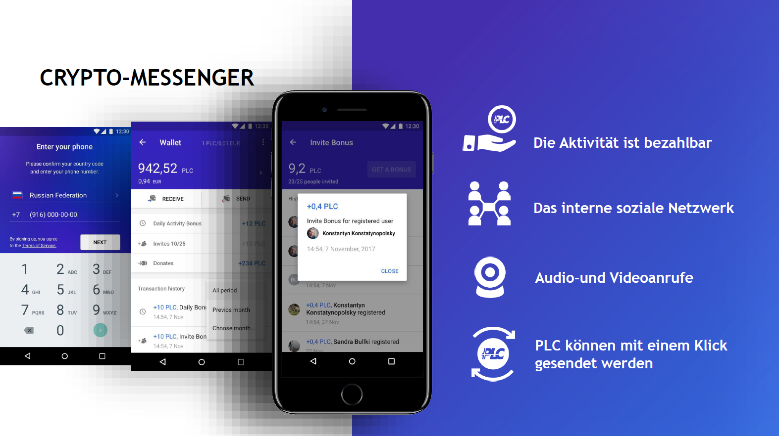 Crypto-Messanger