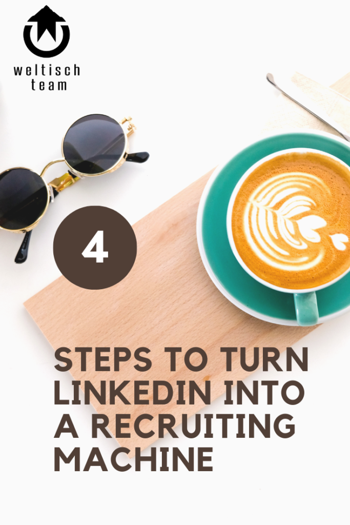 4 steps to turn LinkedIn into a Transform recruitment machine 683x1024 - 4 Schritte die LinkedIn in eine Rekrutierungsmaschiene verwandeln