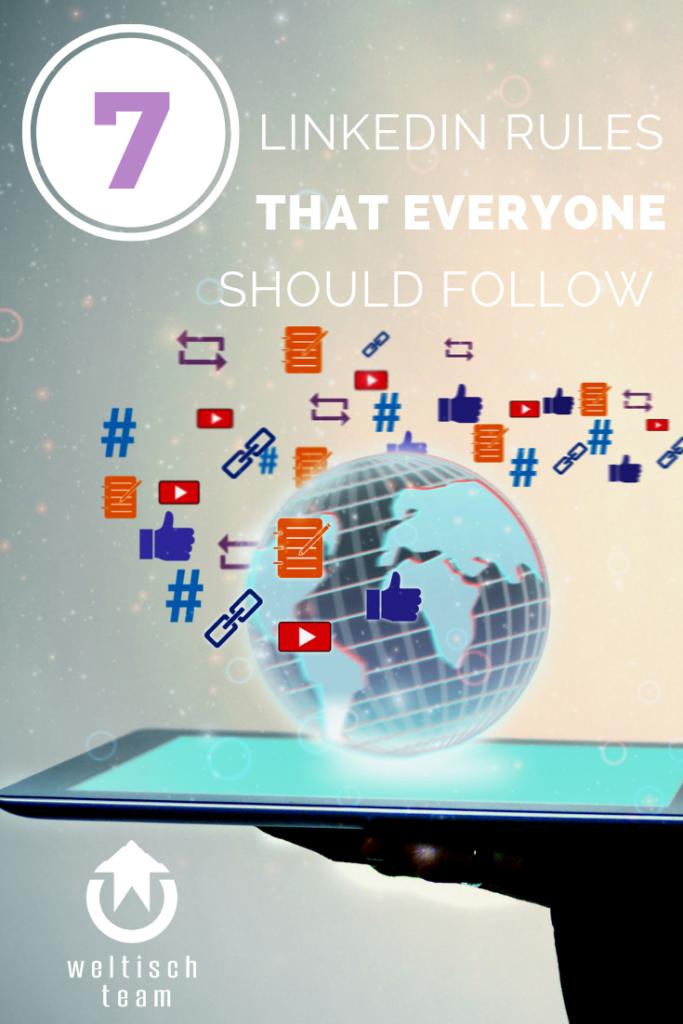 7 LinkedIn rules that everyone should follow 683x1024 - 7 Regeln bei LinkedIn, die jeder beachten sollte