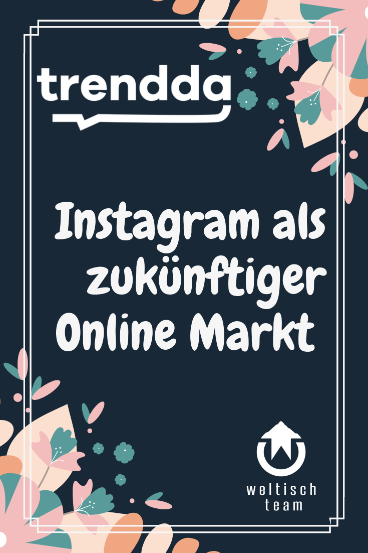 DE Instagram als Online Markt - Instagram als zukünftiger Online Markt