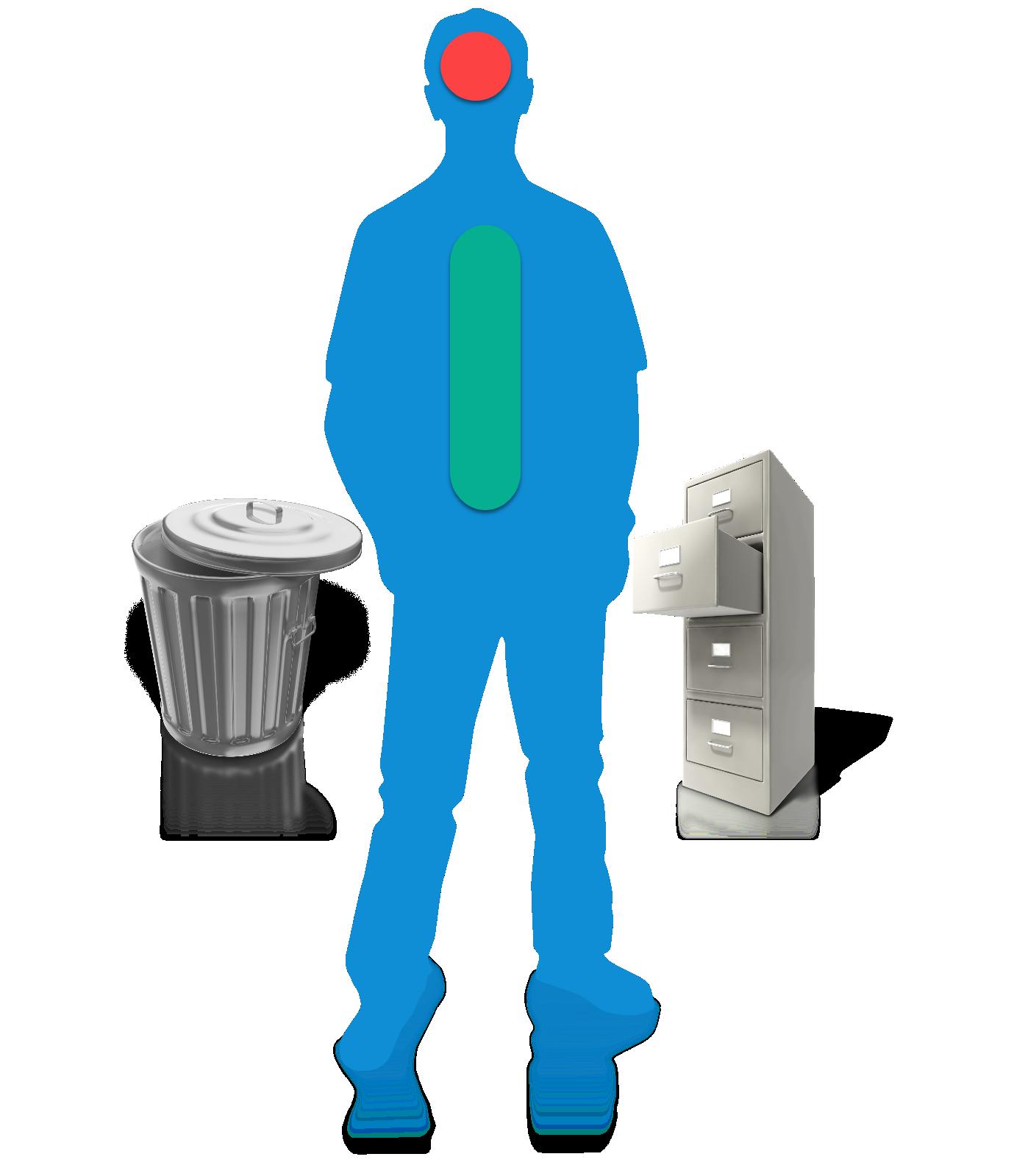 Mann ohne rechts links - Dein persönlicher Mindset Filter