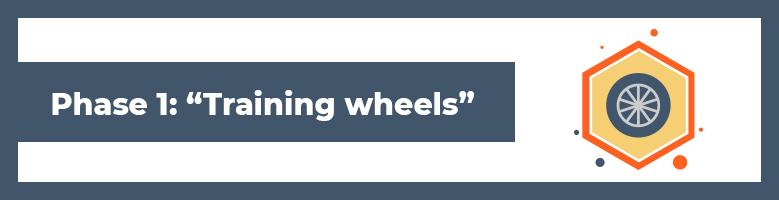 Phase 1 Training wheels - Wie Magnetic Sponsoring funktioniert: Ziehe automatisch eine endlose Anzahl an Kontakten & Team-Mitgliedern an