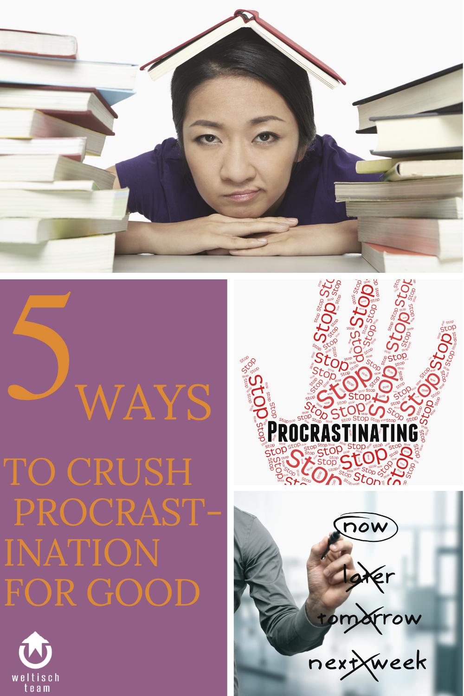 Procrastination 1 - 5 Schritte um Aufschieberitis zu bekämpfen