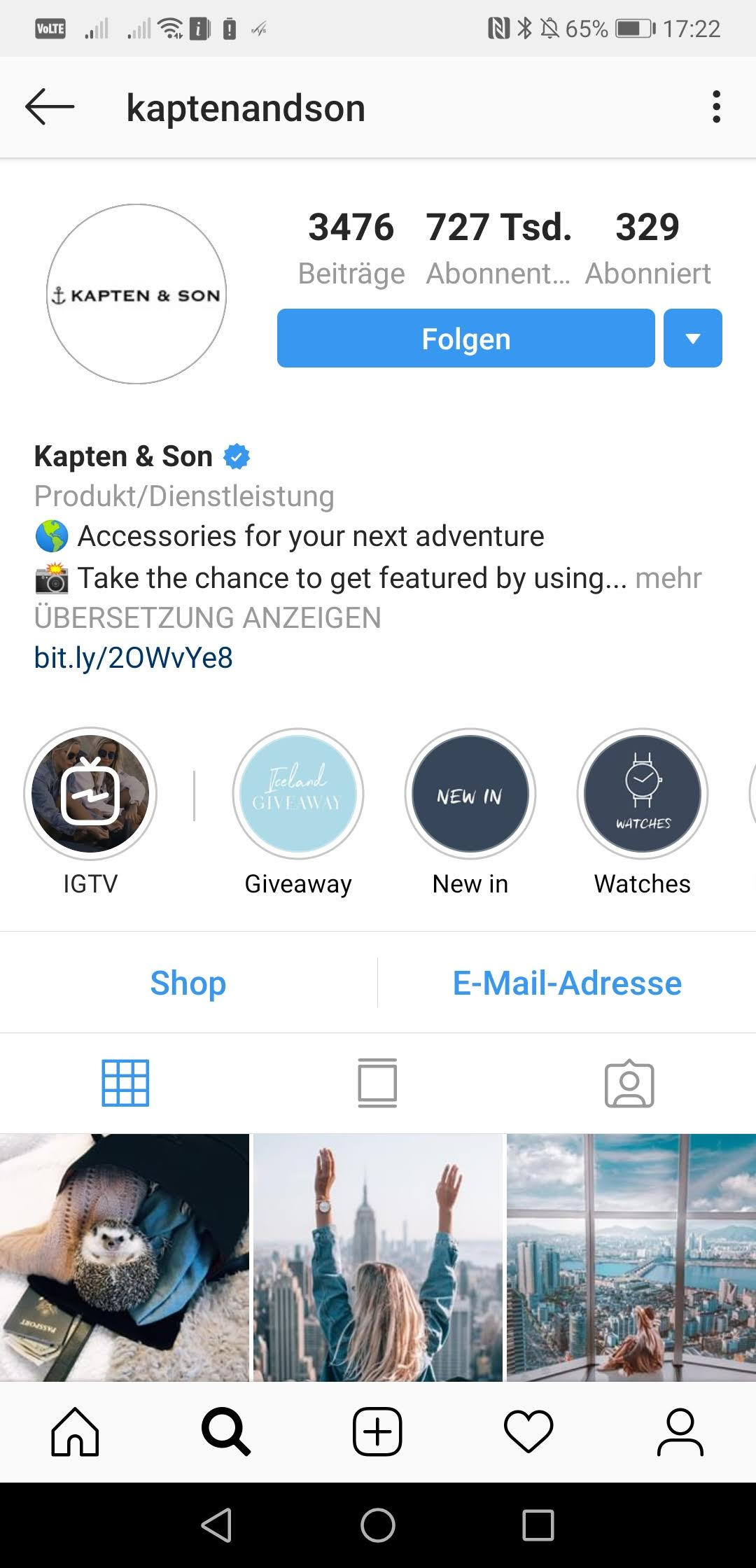Screenshot 20190118 172217 com.instagram.android - Instagram Marketing mit Trendda