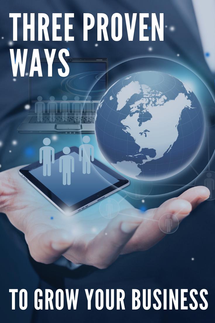 Three proven ways to get your Business via the Internet - Drei bewährte Wege, um Dein Geschäft über das Internet auszubauen